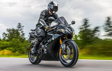 Conducir una moto